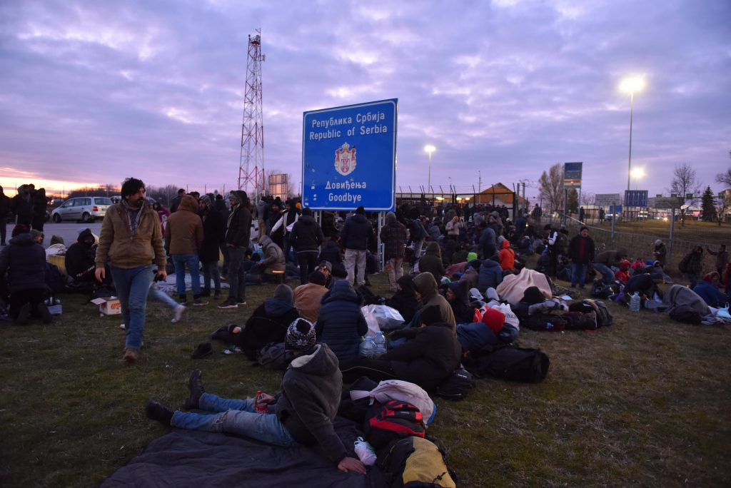Serbian Authorities' Intervention Ends Migrant Camping at Hungarian Border post's picture