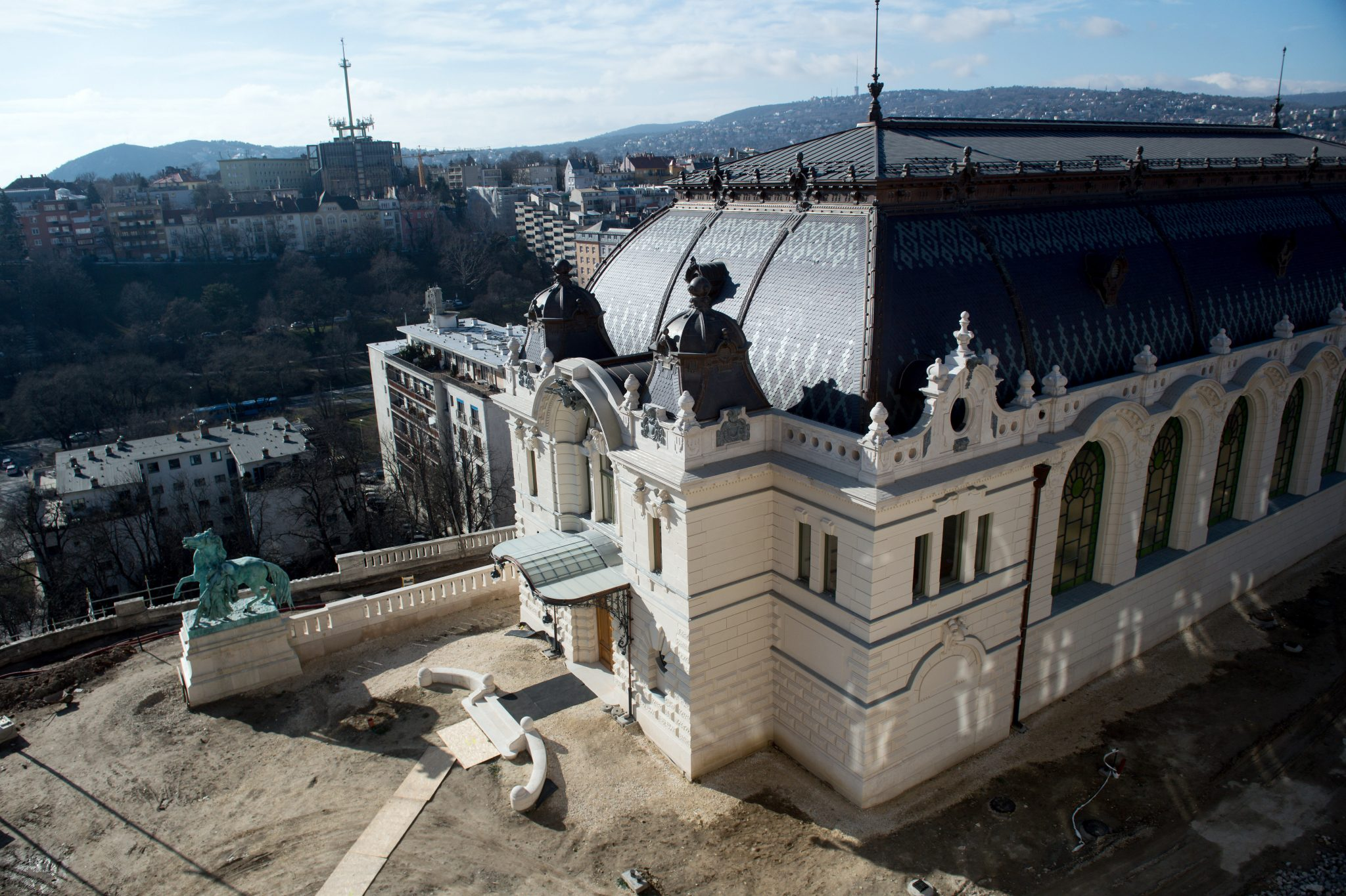 Reconstructed Royal Stables and Guardhouse Completed at Buda Castle post's picture
