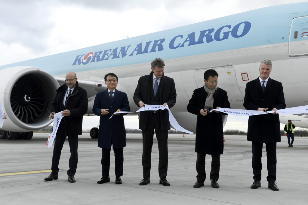 Korean Air Launches Budapest-Seoul Cargo Flight post's picture