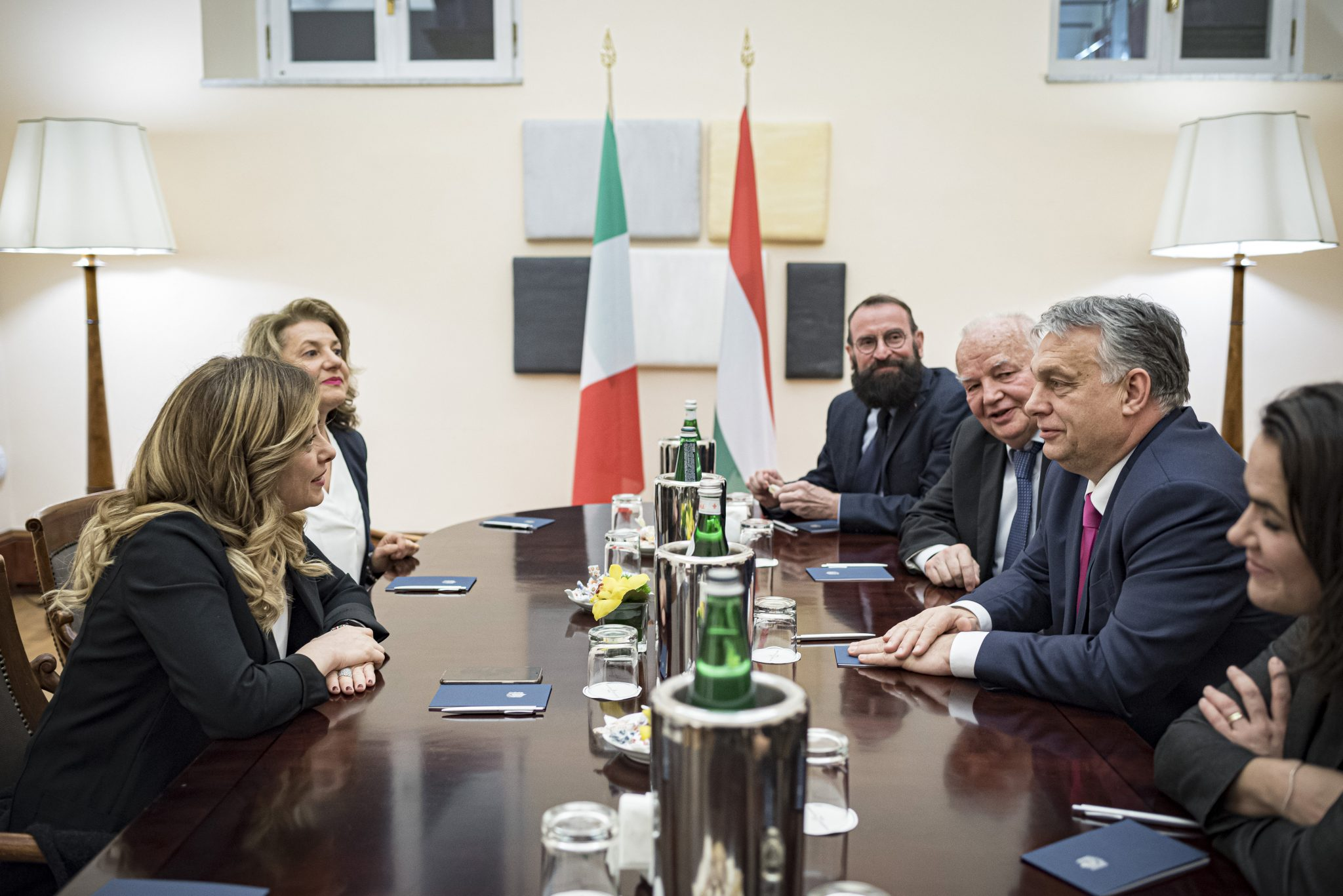 Bridge-building? Orbán Meets Berlusconi, Salvini, Meloni – Italian Right-wing Leaders in Rome post's picture
