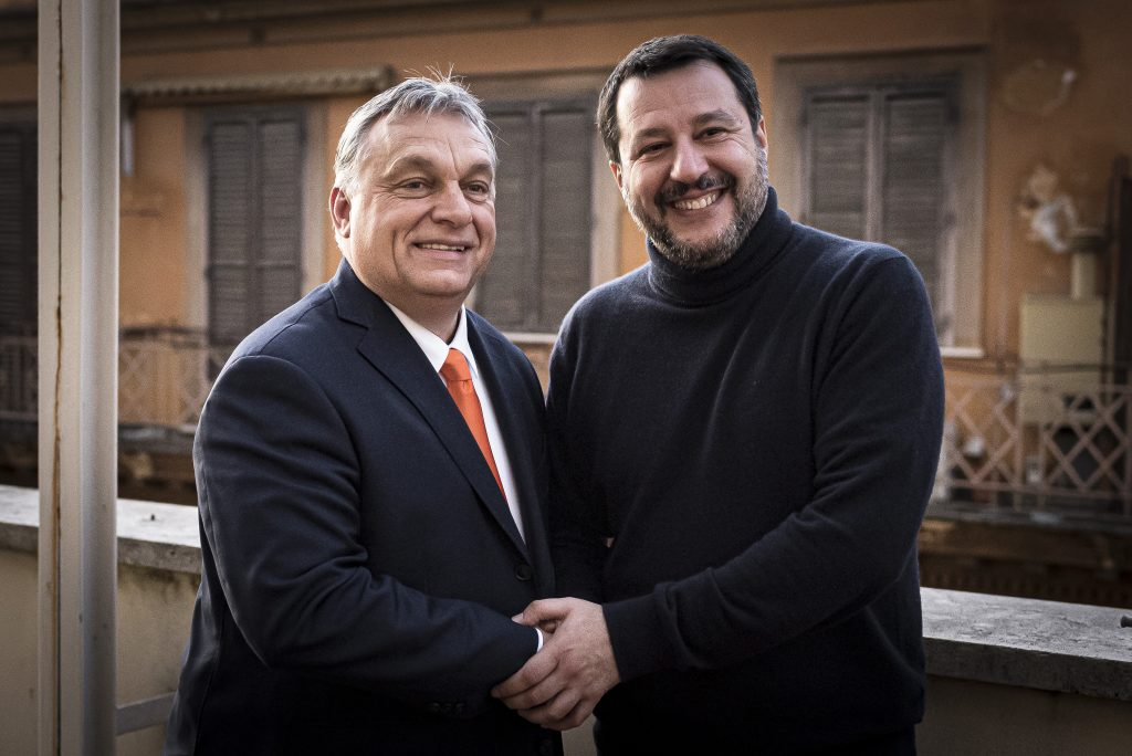 Orbán Stands by Italy, Says League Leader Salvini post's picture