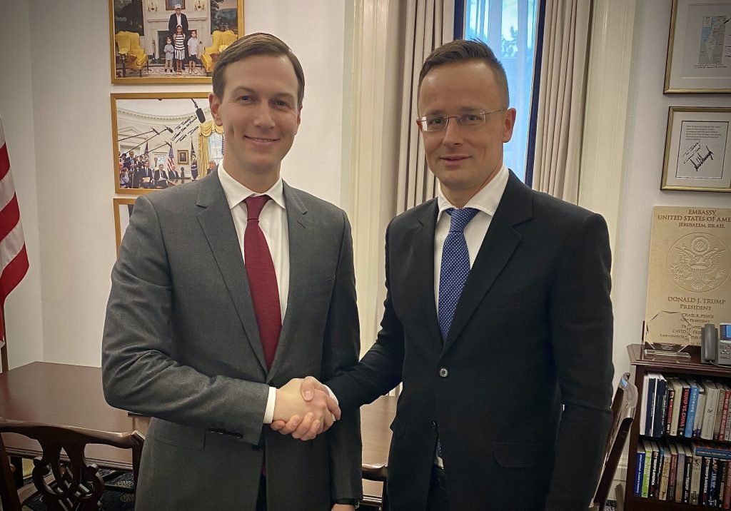 Szijjártó, White House Adviser Discuss Coronavirus Measures, Israel post's picture
