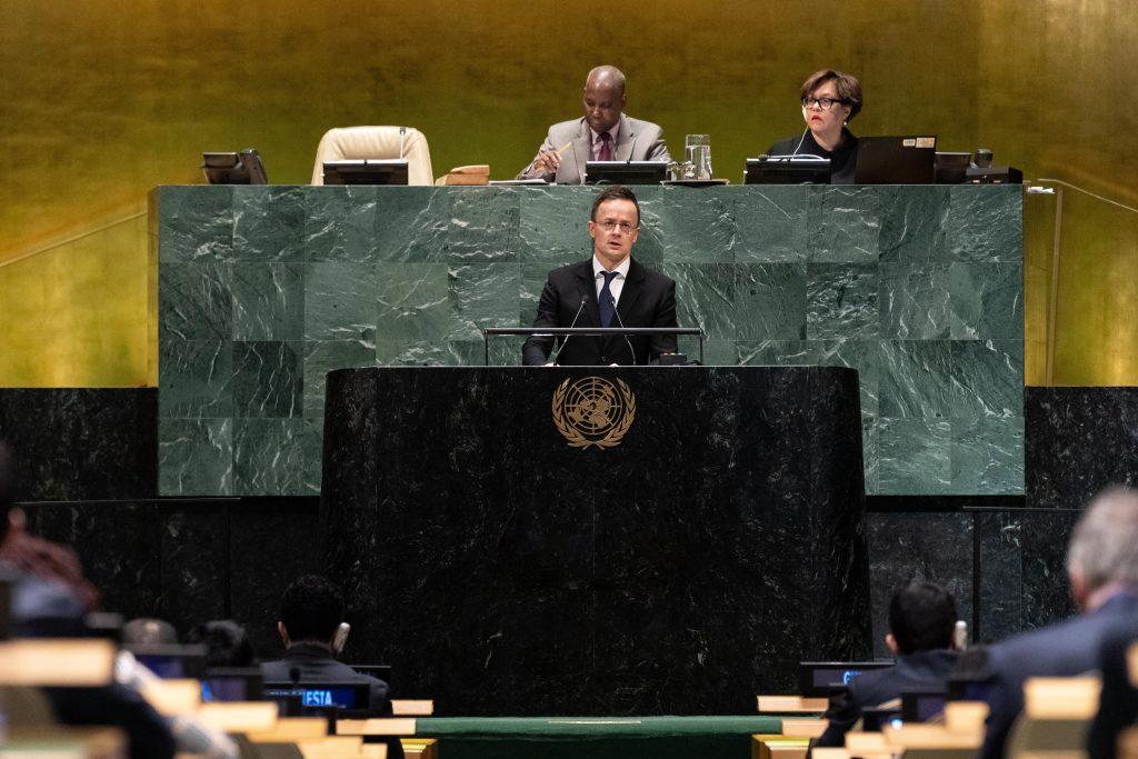 Szijjártó at UN: 'Situation of Ethnic Minorities in Ukraine Unacceptable and Unlawful' post's picture