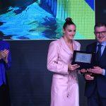 Katinka Hosszú Collects AIPS European Sportswoman of the Year Award