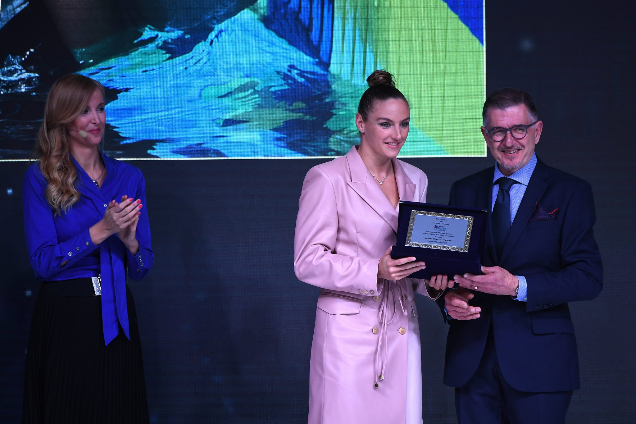 Katinka Hosszú Collects AIPS European Sportswoman of the Year Award post's picture