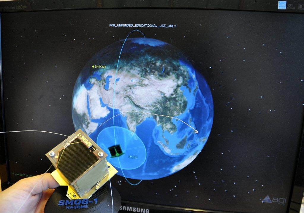 Hungarian Nano-Satellites Travelling around Earth Functioning as Planned post's picture