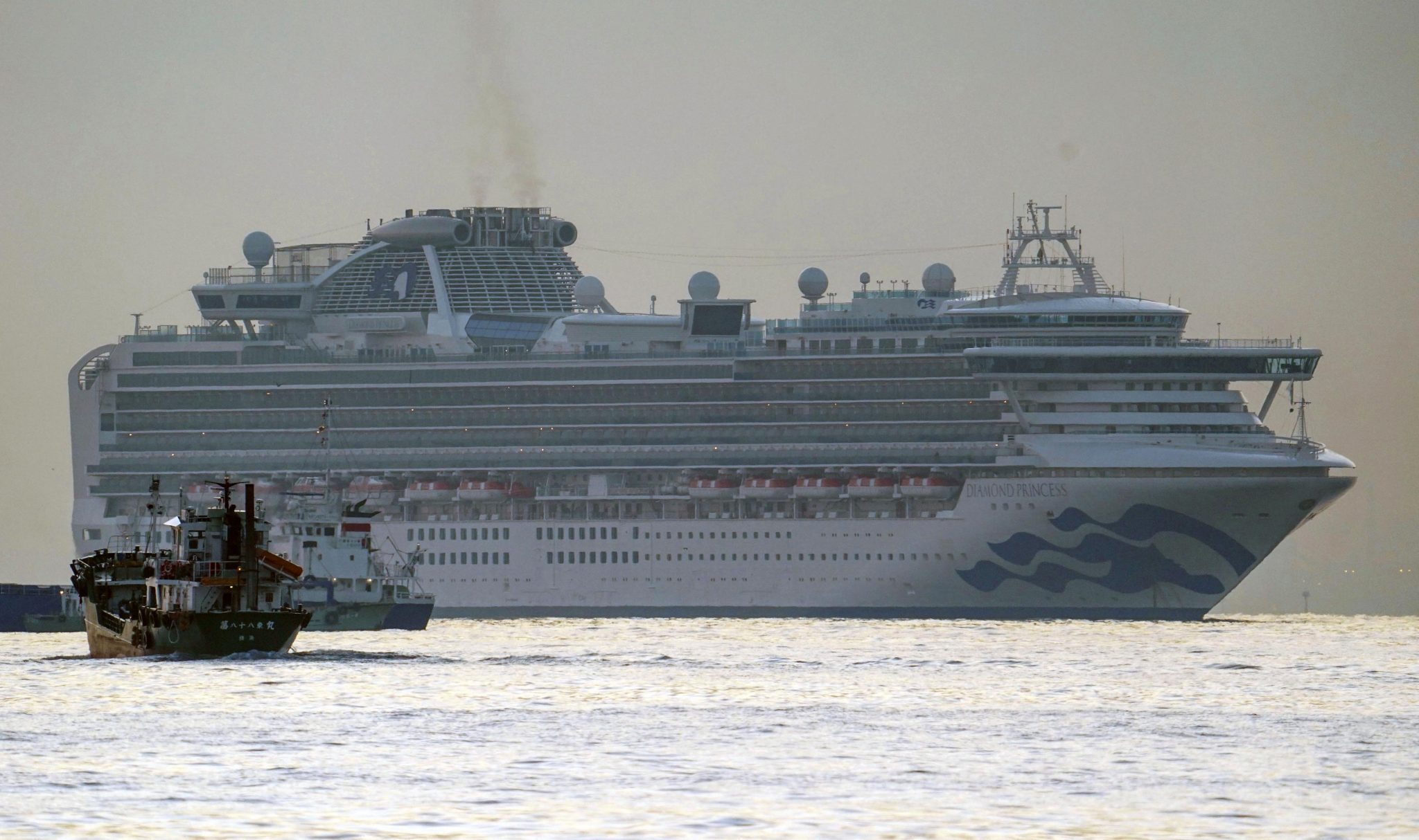 Coronavirus: Hungarian Staff Aboard Cruise Ship Quarantined off Japan Coast post's picture