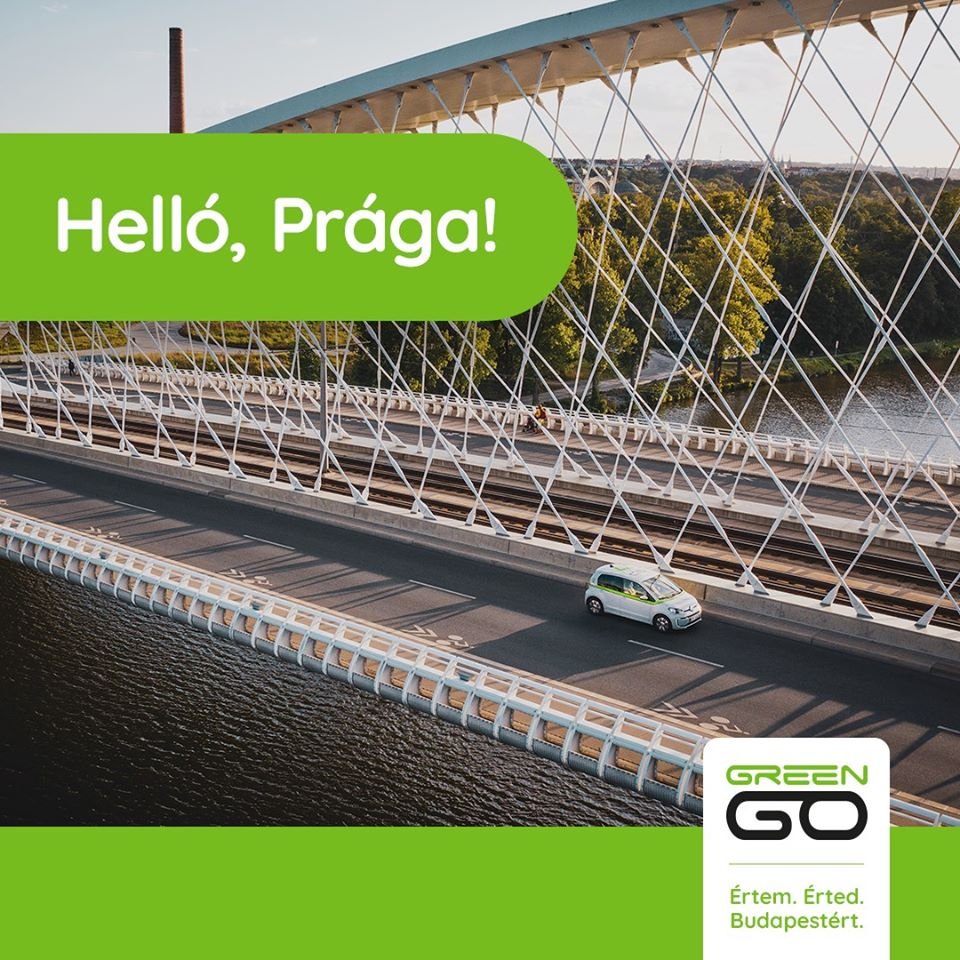 Hungarian GreenGo Launches Car-sharing Service in Prague post's picture