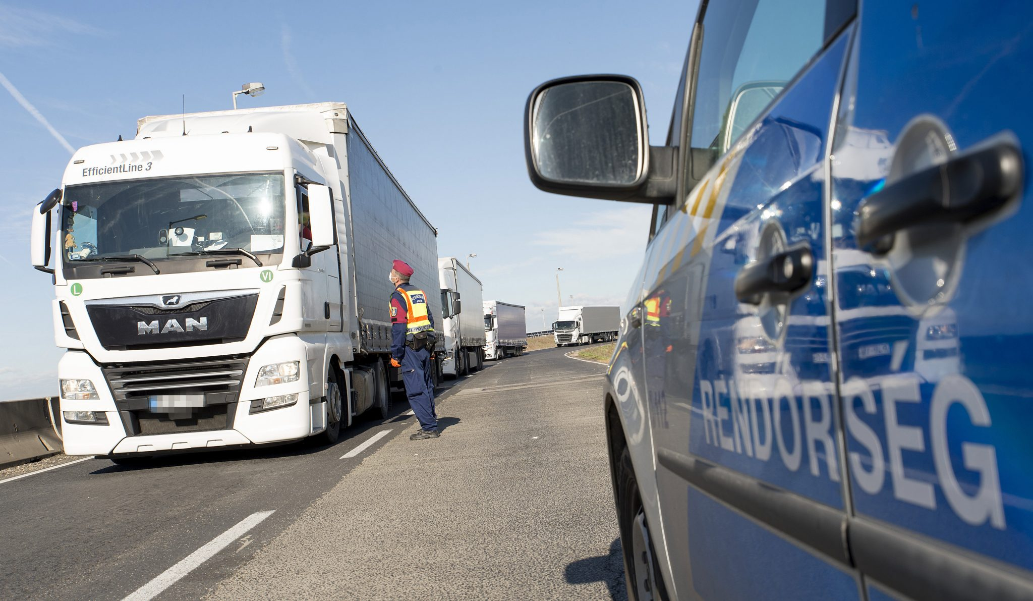 Coronavirus: Freight Traffic between Hungary, Slovenia Ongoing under Strict Control post's picture