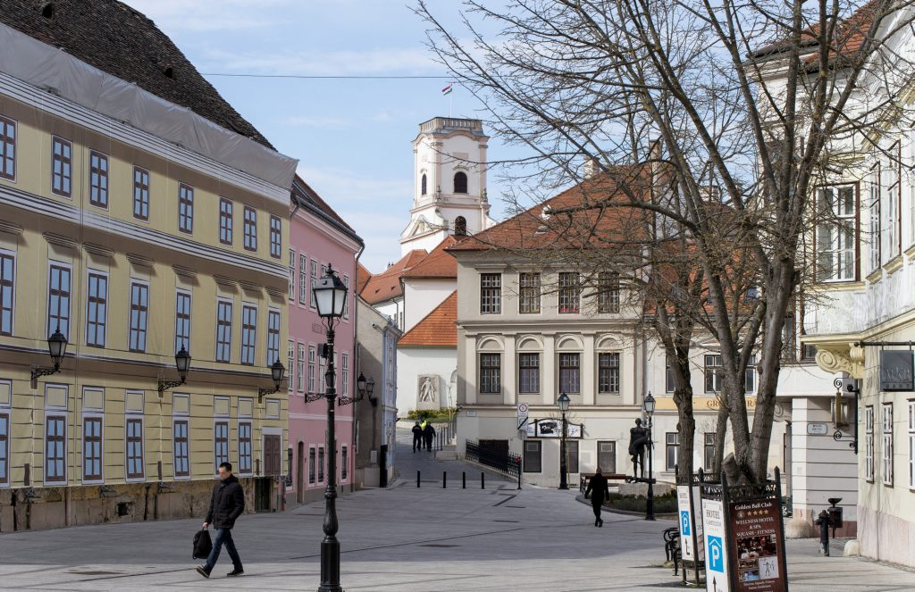 Győr's Káptalandomb District Becomes National Monument Site post's picture