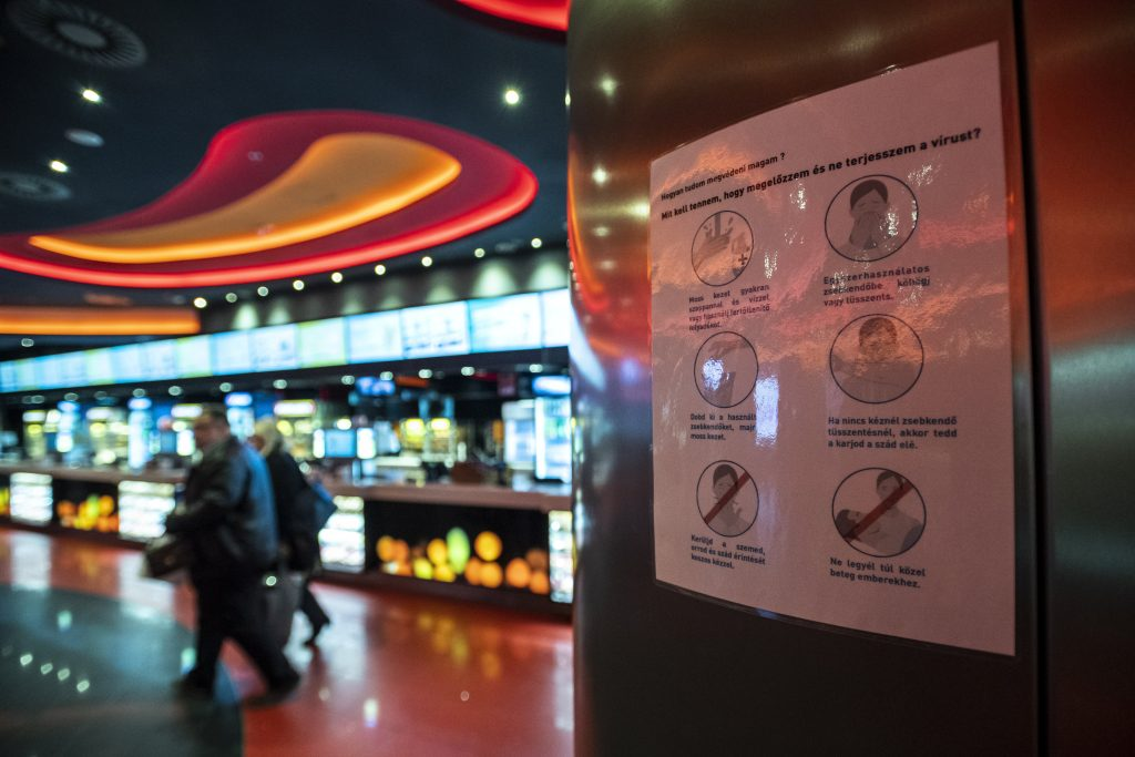 Coronavirus: Hungarian Box Office Sales Plunge Over 70% in 2020 post's picture