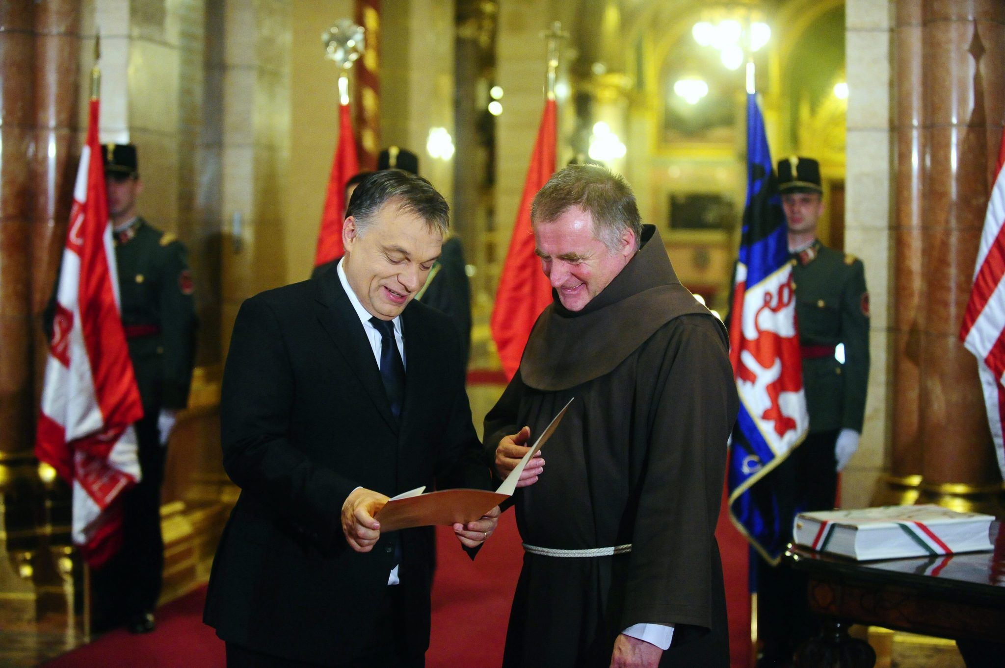 PM Orbán and Priest Csaba Böjte Make it to 'Inside the Vatican's' Top Ten People List post's picture