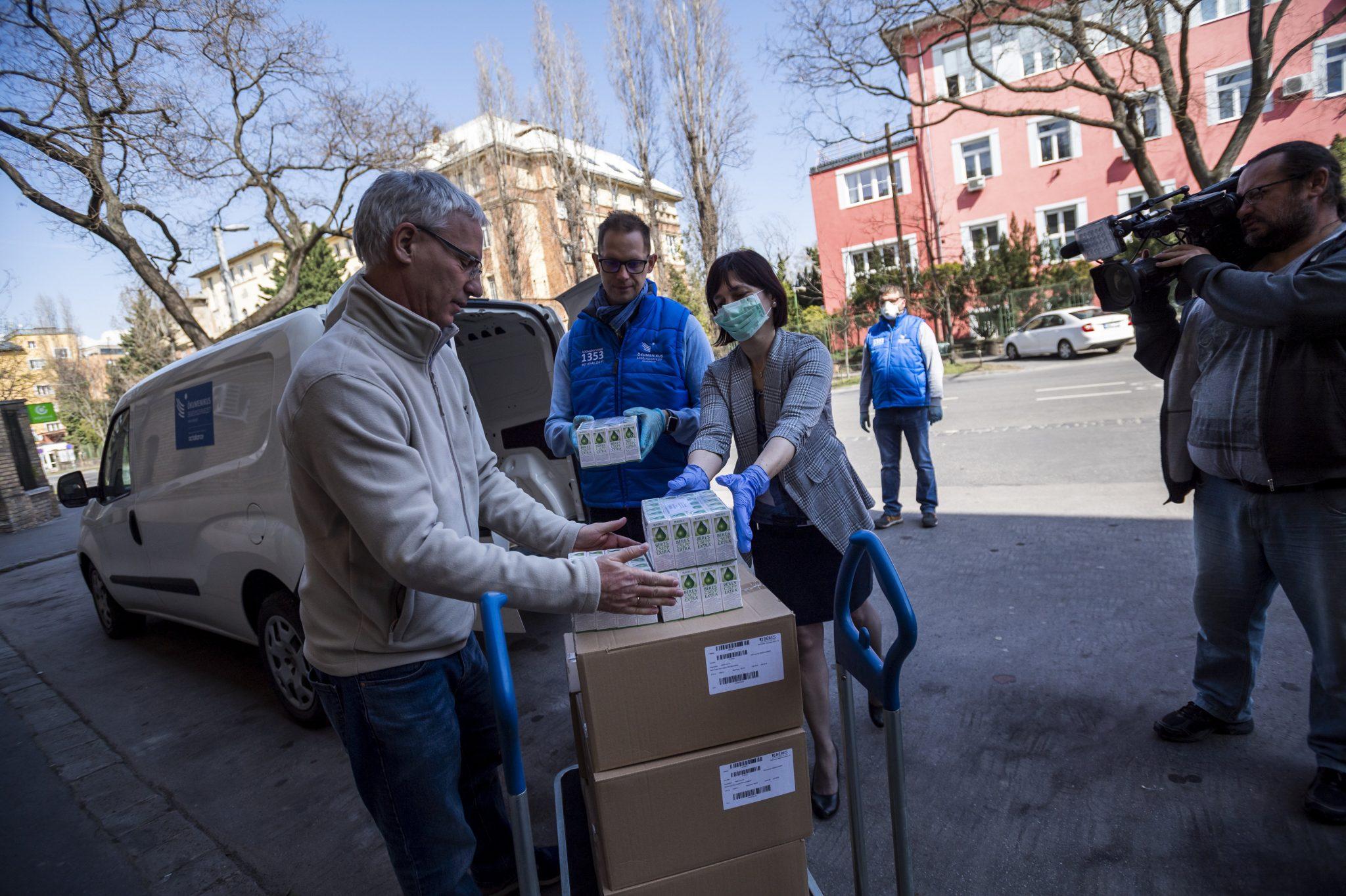 Coronavirus: Béres Donates 10,000 Bottles of Immune System Fortifier post's picture