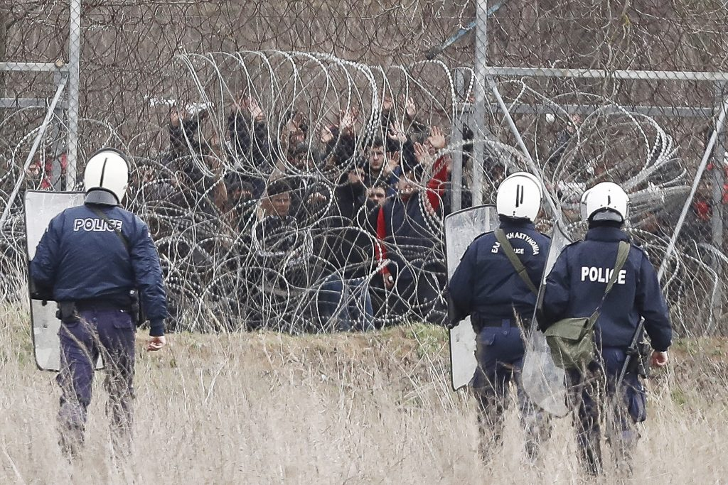 Gov't: Greece and EU Must Protect EU Borders 'Under All Circumstances' post's picture