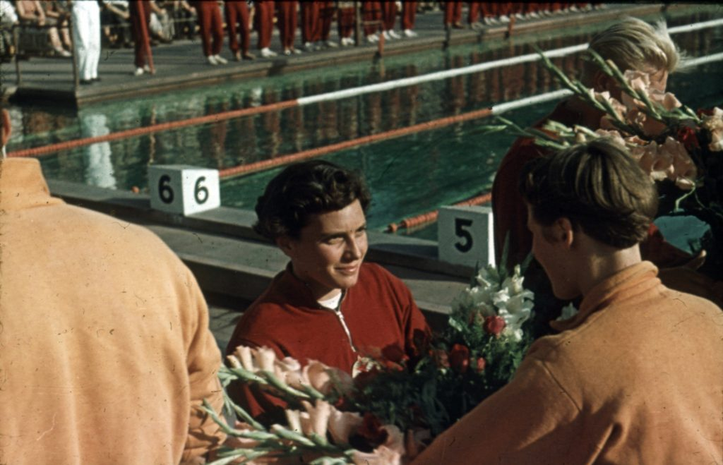 Hungarian Olympic Champion Swimmer Éva Székely Dies at 91 post's picture