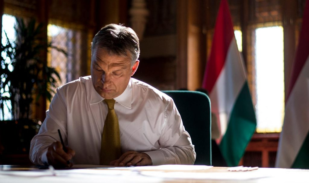 Orbán Marks German Unity Day post's picture