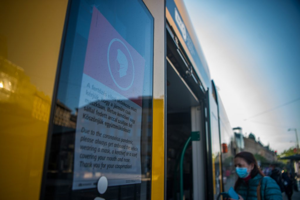 HUF 8,000 Fine for Not Wearing Mask on Budapest Public Transport post's picture