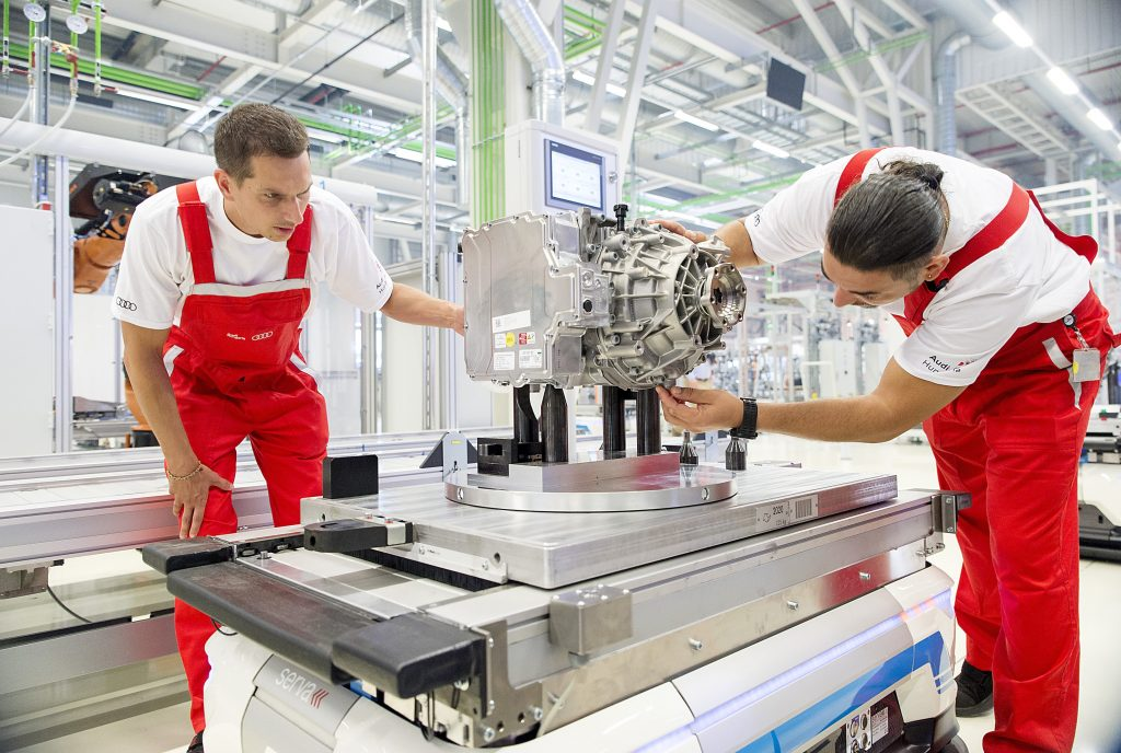 Audi Hungaria Engine Plant Partially Restarts Production post's picture