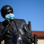 Statues Wear Face Masks Amid Coronavirus Crisis – Photo Gallery!