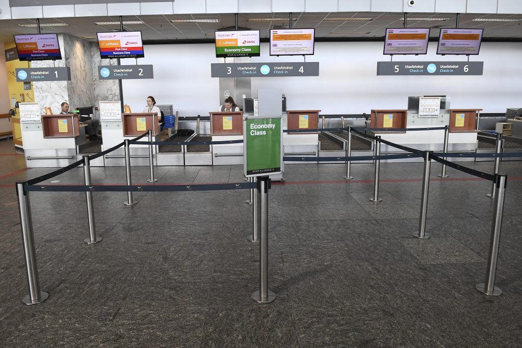 Reduced Air Traffic Empties Budapest Airport – Video! post's picture