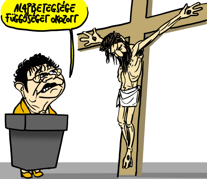 "KDNP to Launch Lawsuit for ""Blasphemic"" Caricature post's picture"