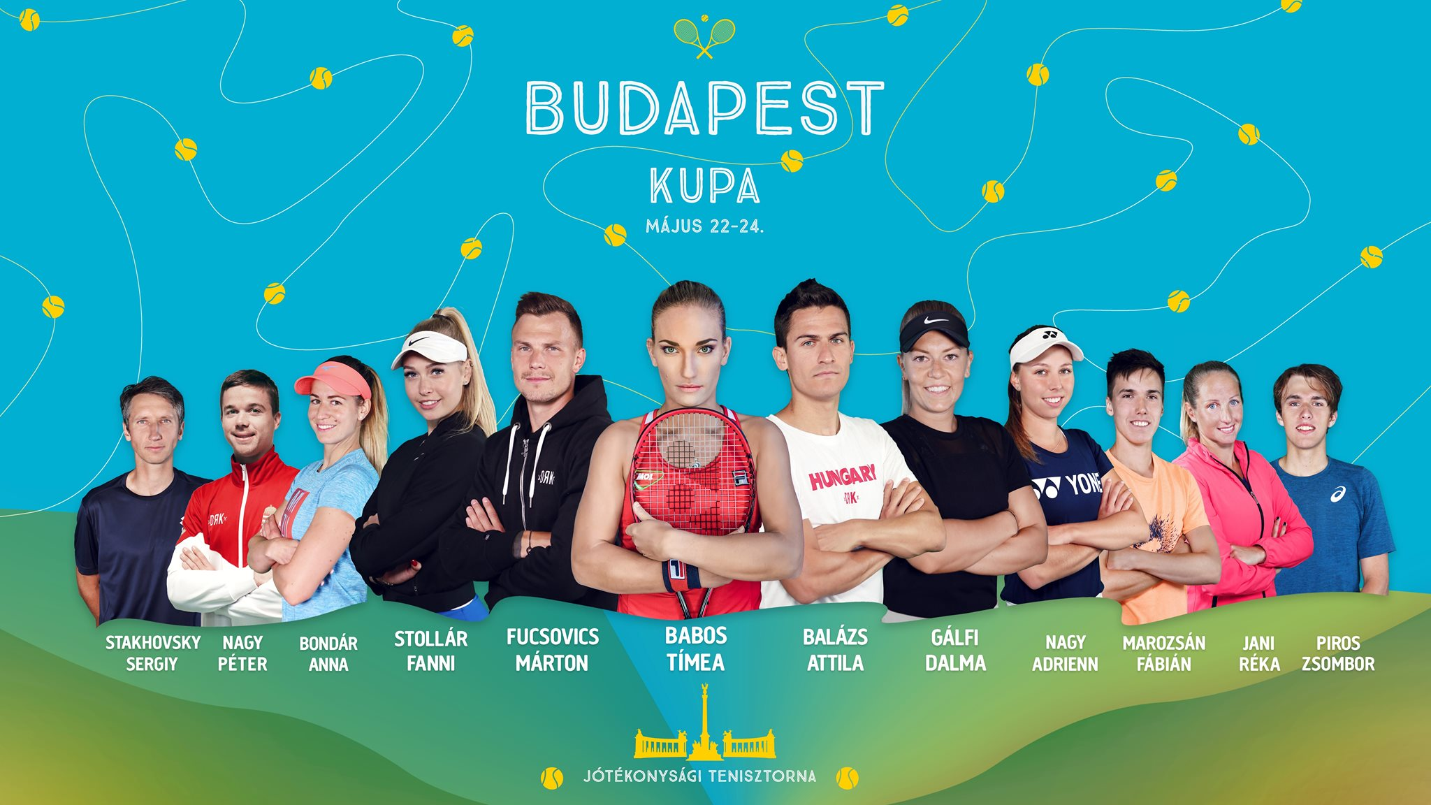 Budapest Tennis Cup to Start with Best Hungarian Players post's picture