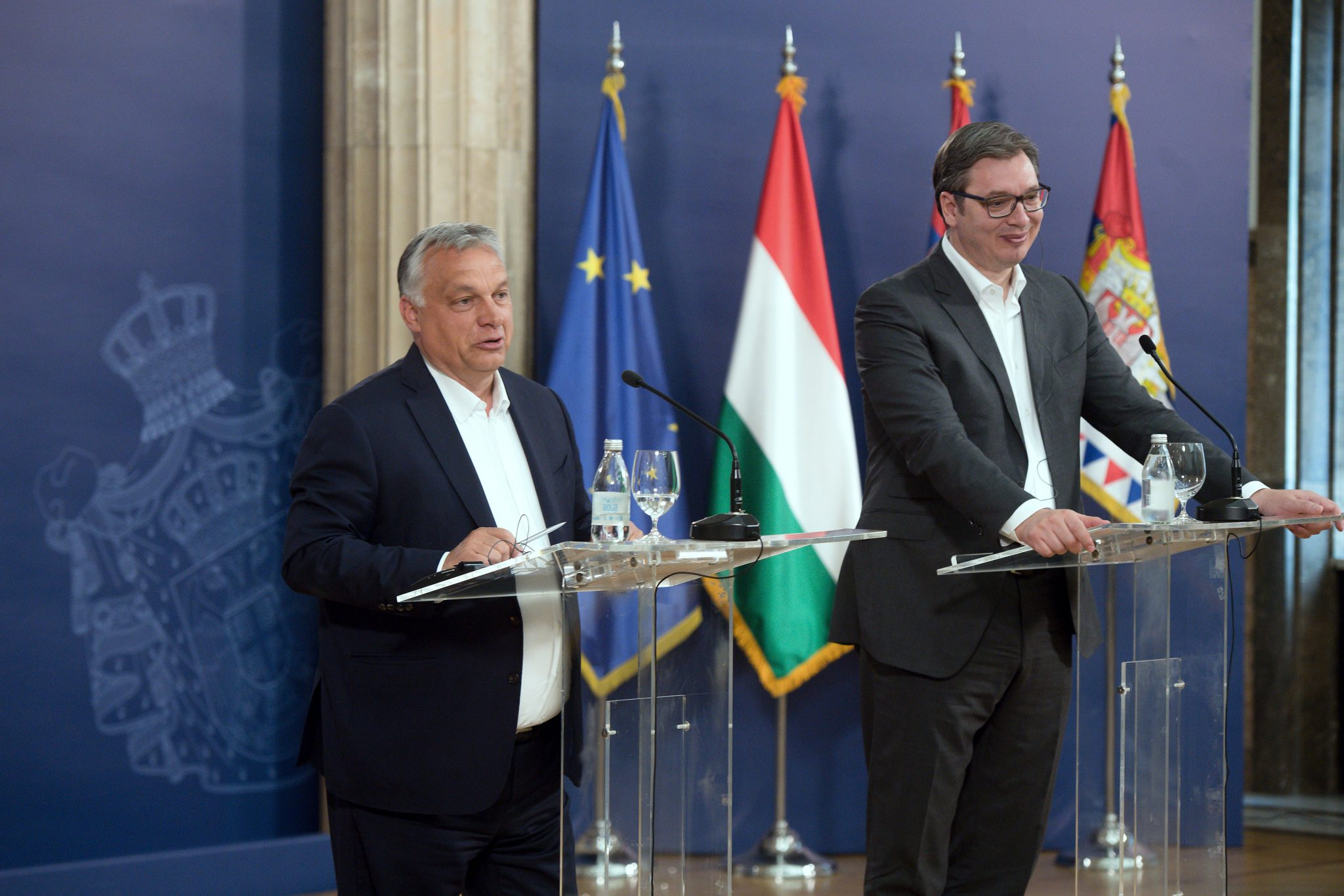Orbán in Belgrade: Gov't Intends to Give Up Special Powers at end-May post's picture