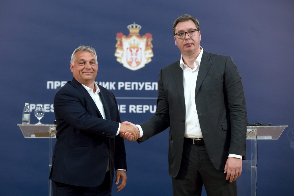 Orbán Congratulates Serbia President Vucic on Election Victory post's picture