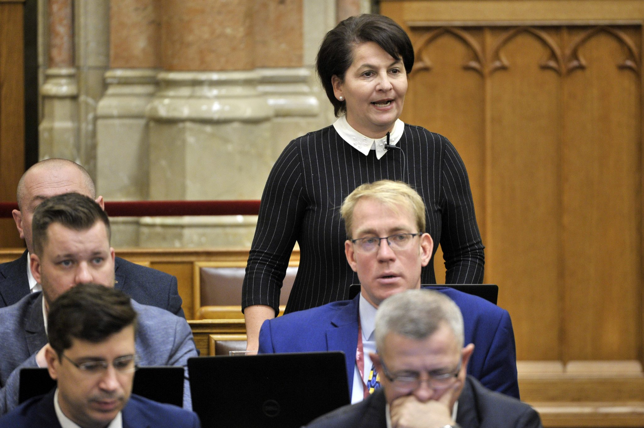 Jobbik's Varga-Damm Refuses to Return Her Mandate post's picture