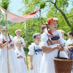 Christian Pentecost feast involves pagan traditions such as fertility procession