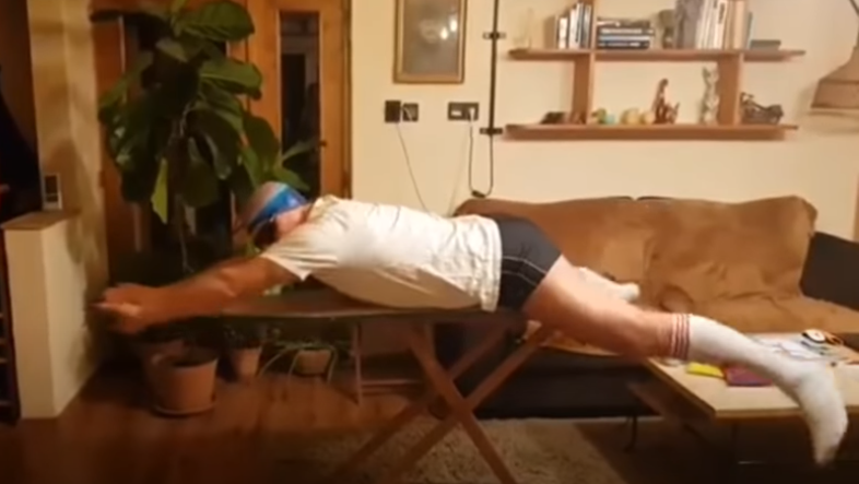 Many Back Teacher Facing Backlash for Demonstrating Swimming on Ironing Board post's picture