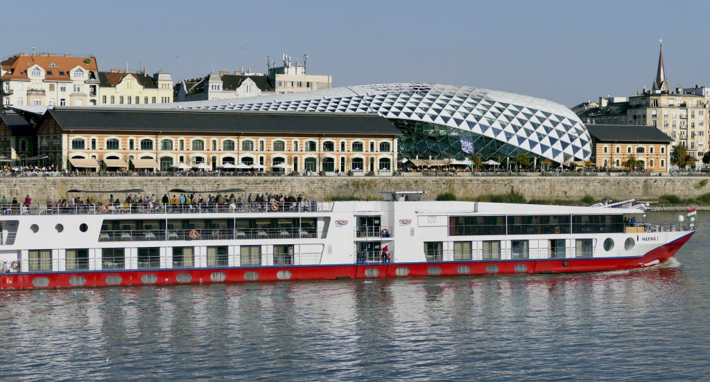 Budapest's 'Whale' To Be Turned into a Cruise Ship Passenger Terminal post's picture