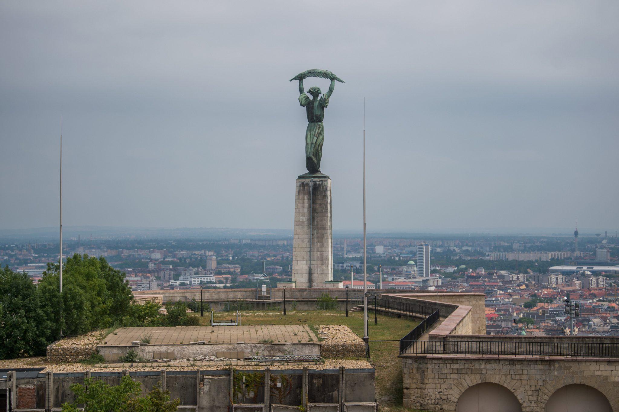 La citadelle Gellért Hill de Budapest à rénover
