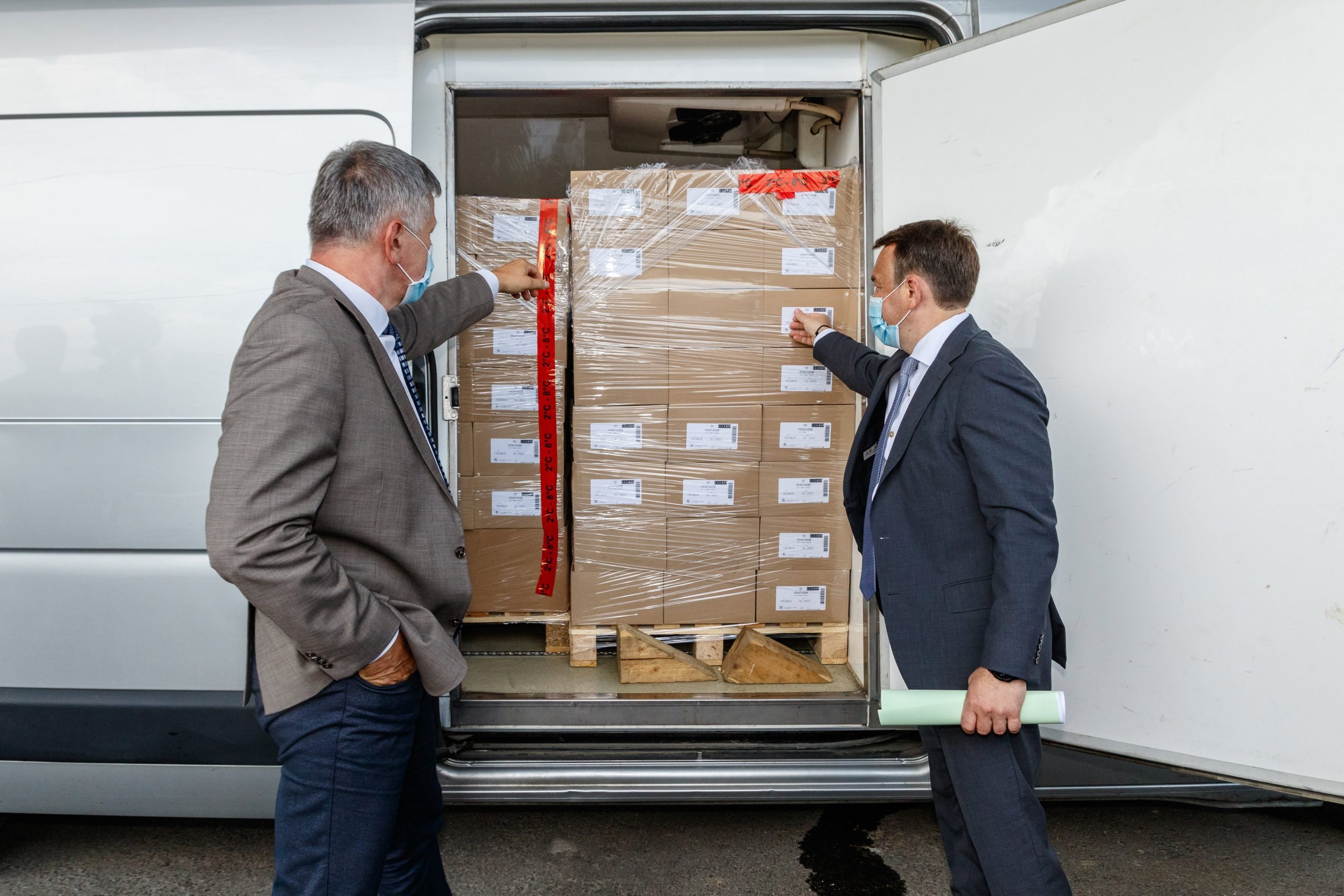 Hungary Sends Vaccines to Transcarpathia post's picture
