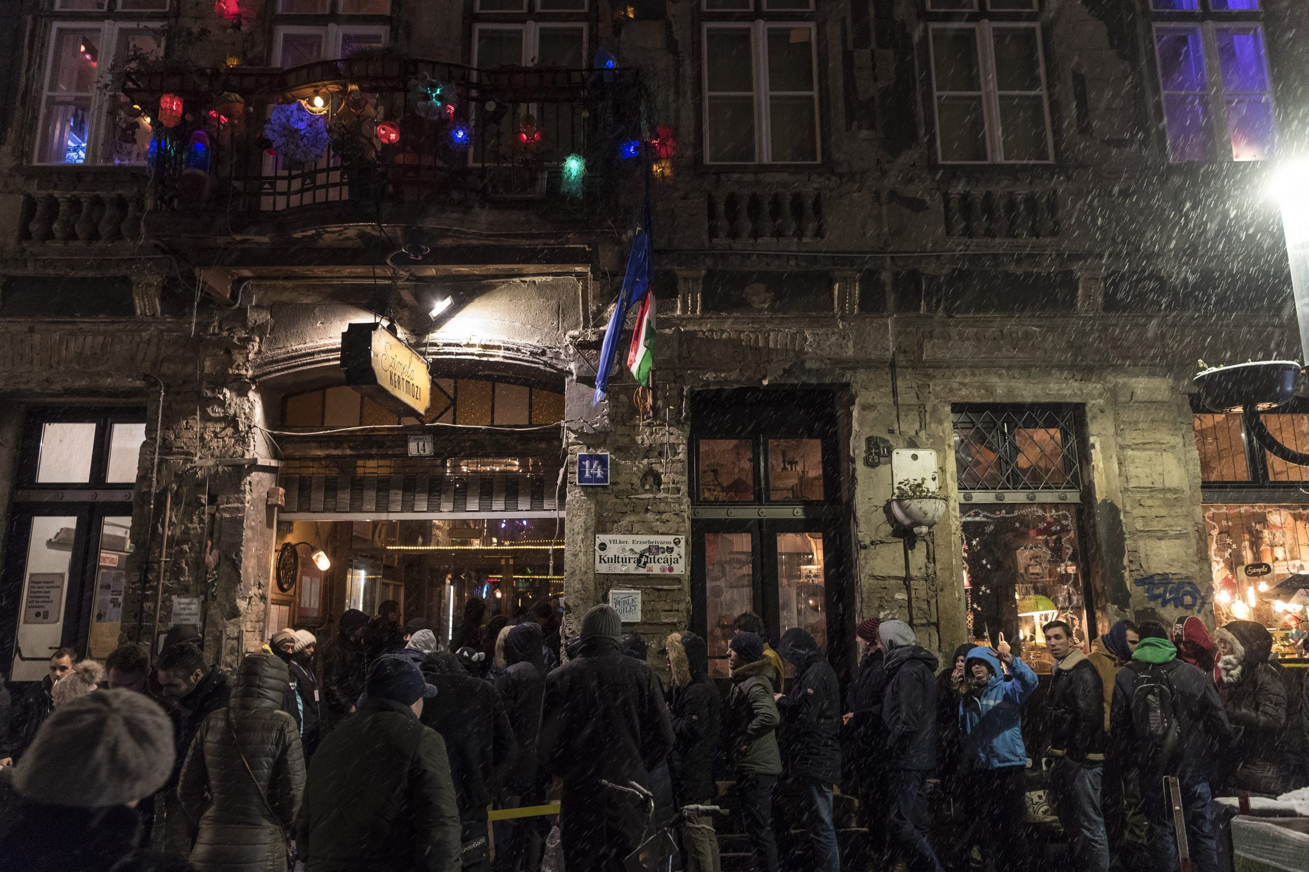 Draconian New Law Puts Budapest's Party District's Existence at Risk