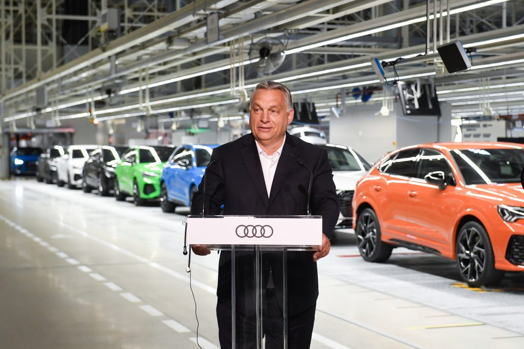 Coronavirus – Orbán Visiting Audi: Rebooting Economy Requires Major Gov't Support post's picture