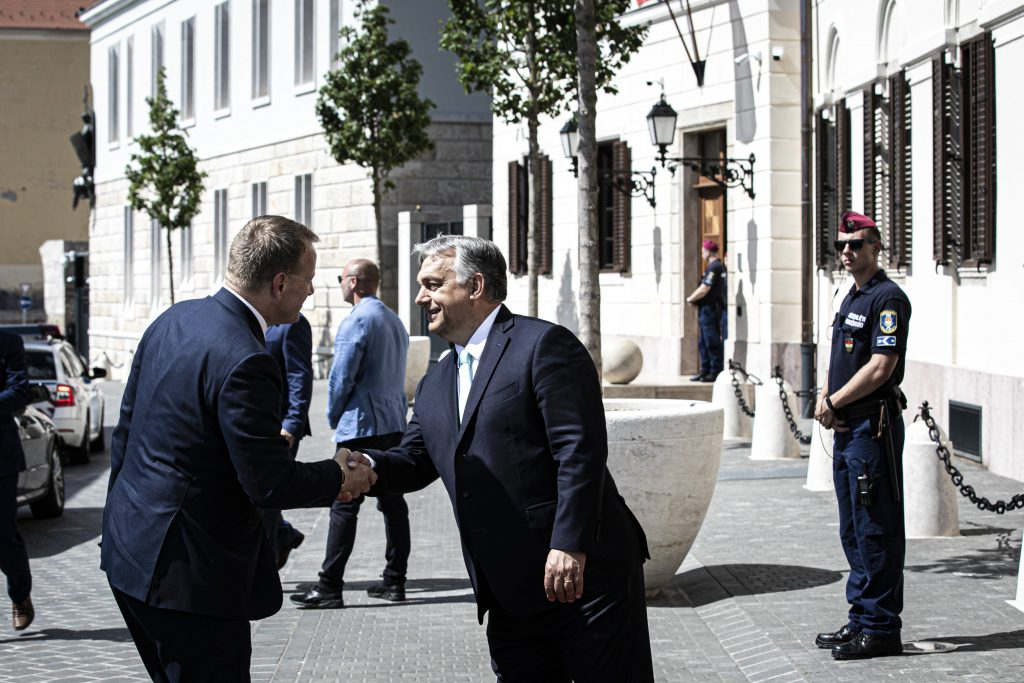 Orbán Has Talks with Slovakia Parlt Speaker post's picture
