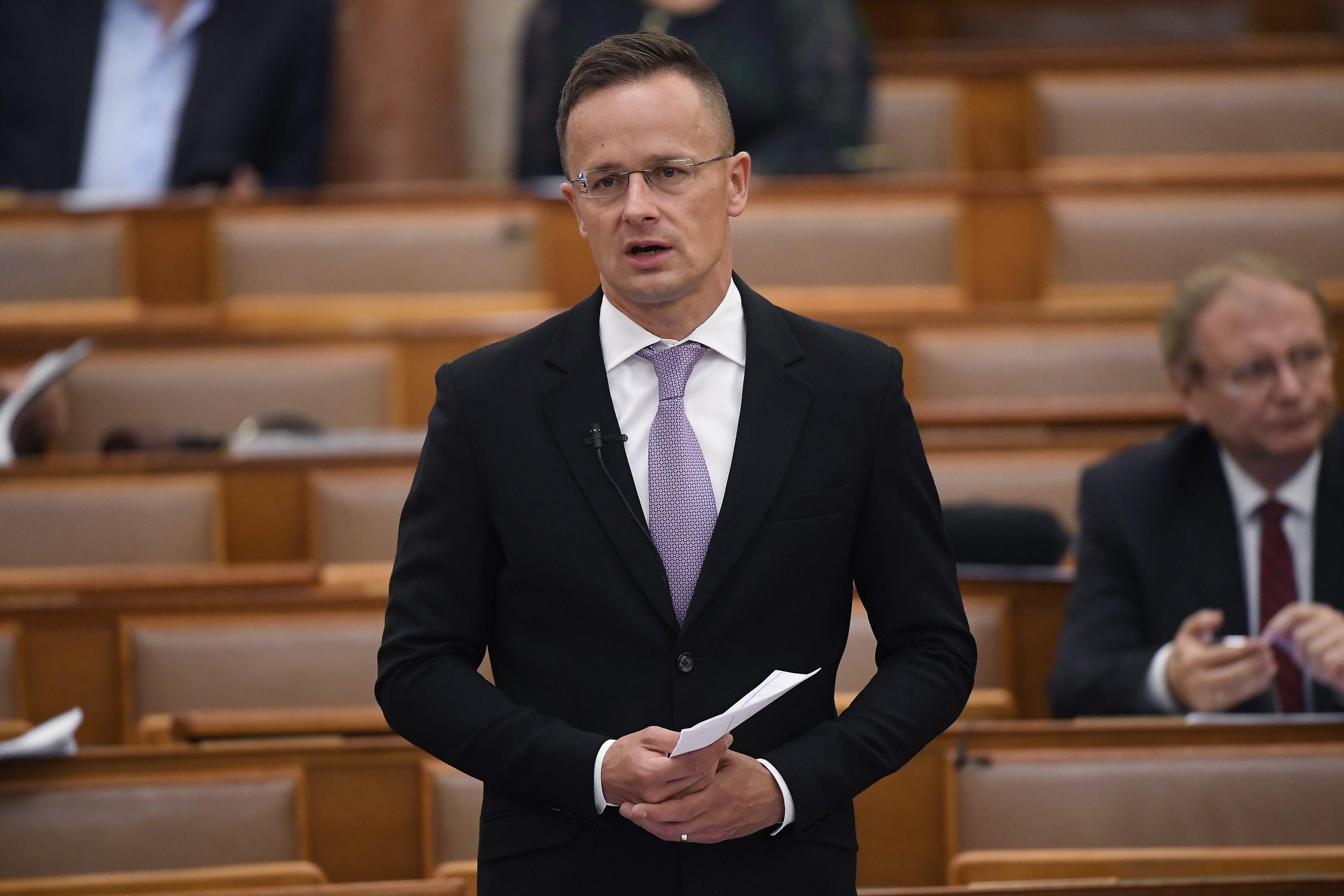 FM Szijjártó: Article 7 Procedure 'Political Blackmail' Against Hungary