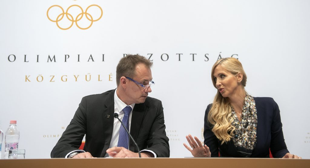 Hungarian Olympic Cttee Re-Elects Krisztián Kulcsár as President post's picture