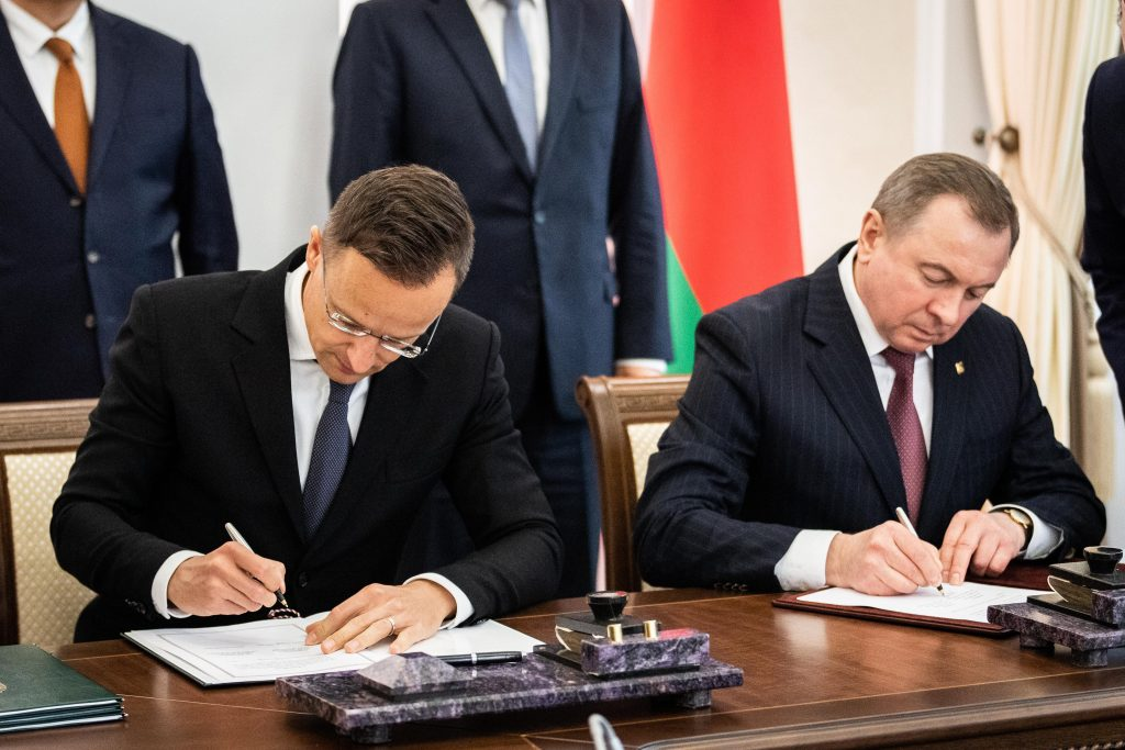 Szijjártó: Hungary, Belarus to Sign Four Cooperation Pacts post's picture