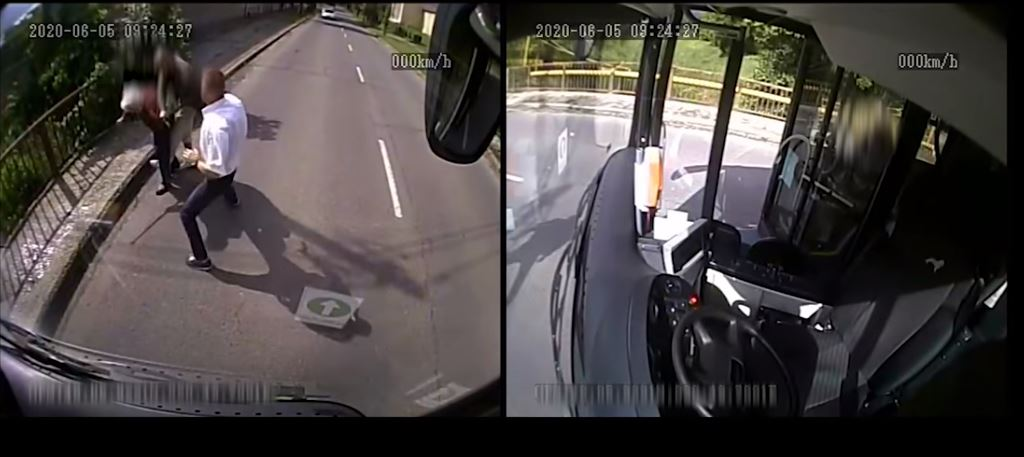 Brave Bus Driver Stops Attempted Purse Thief in Miskolc post's picture