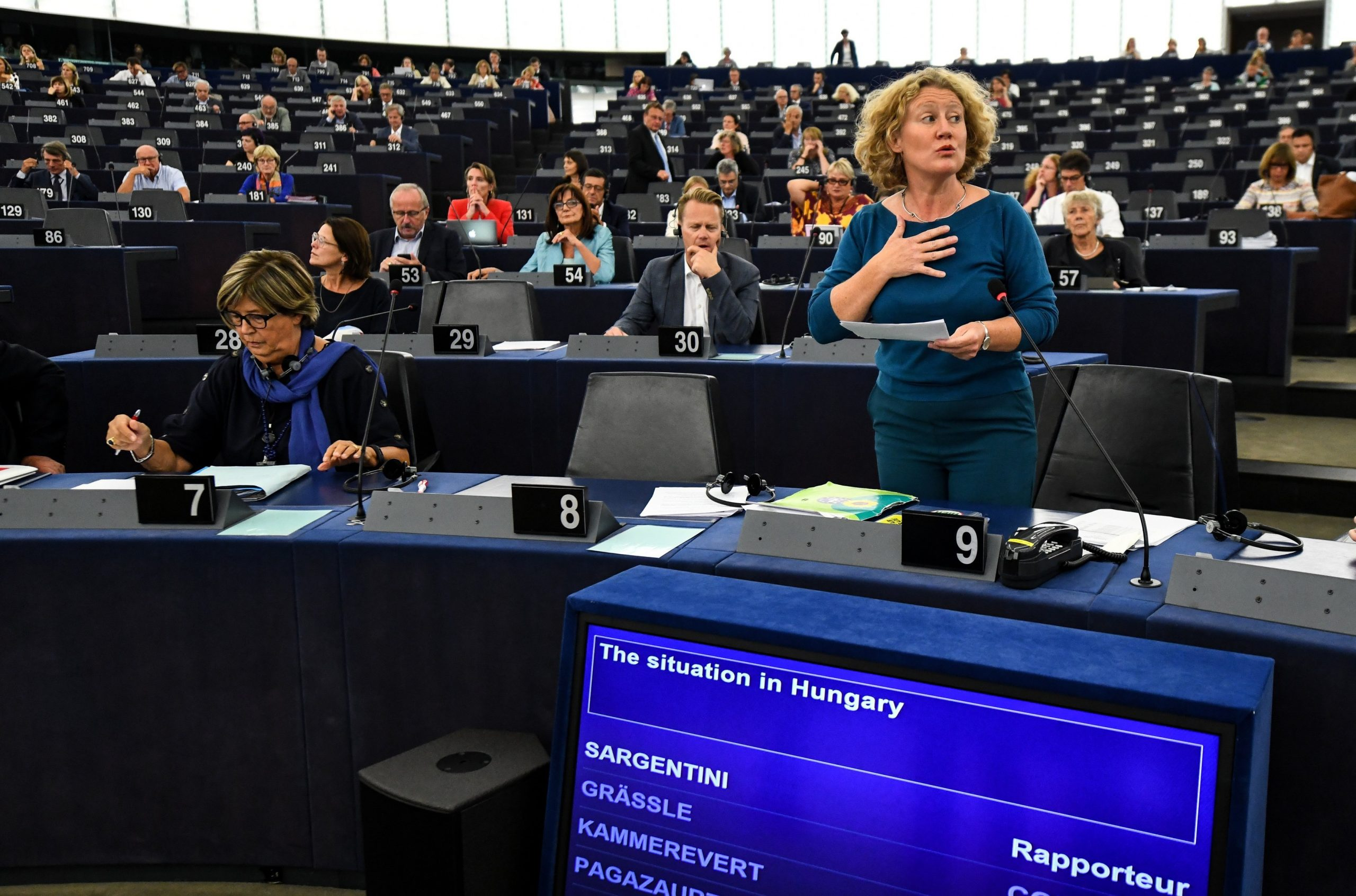 Legality of Sargentini Report Adoption to be Decided in October post's picture