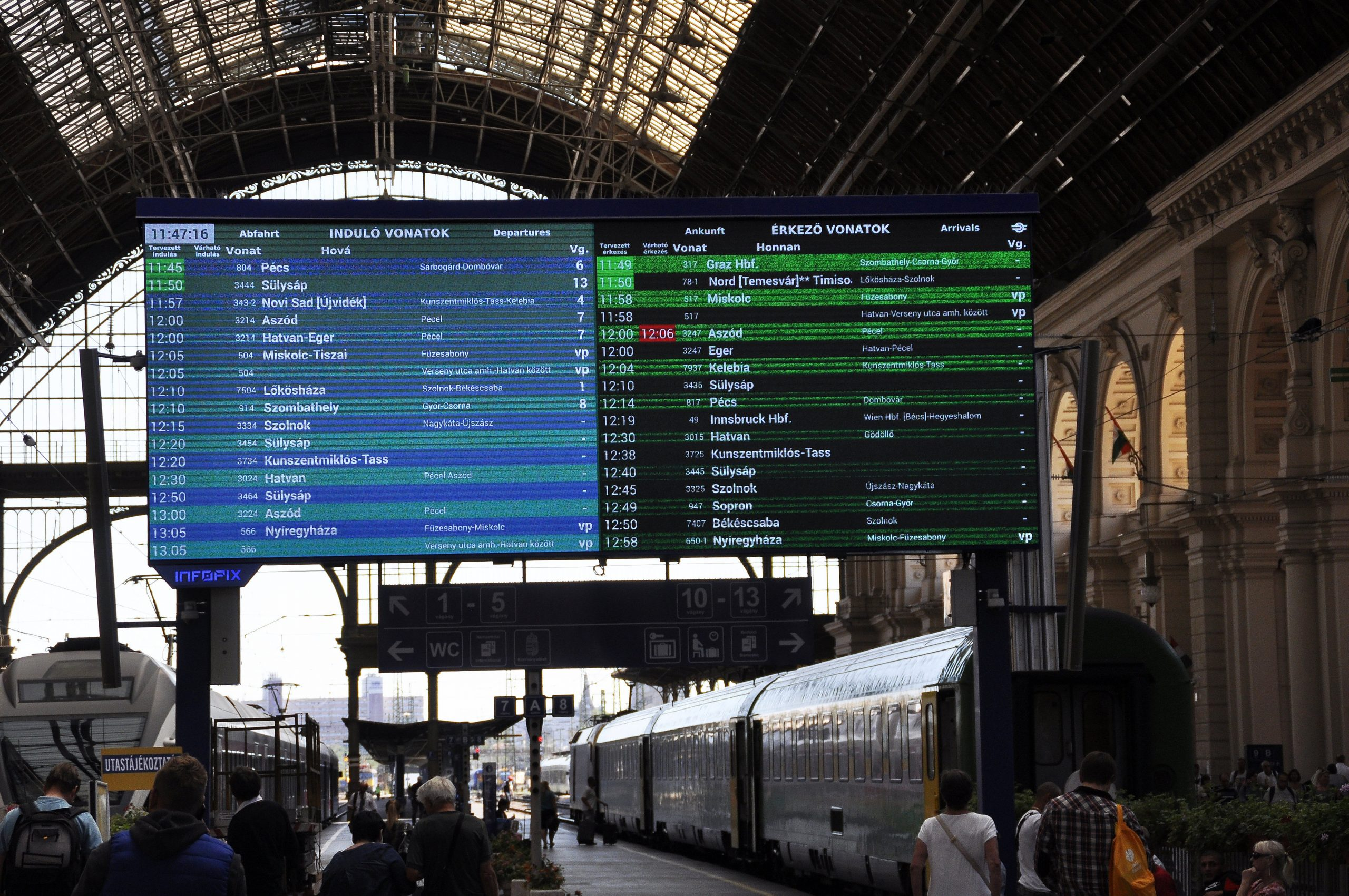 MÁV Starts Selling International Train Tickets Online