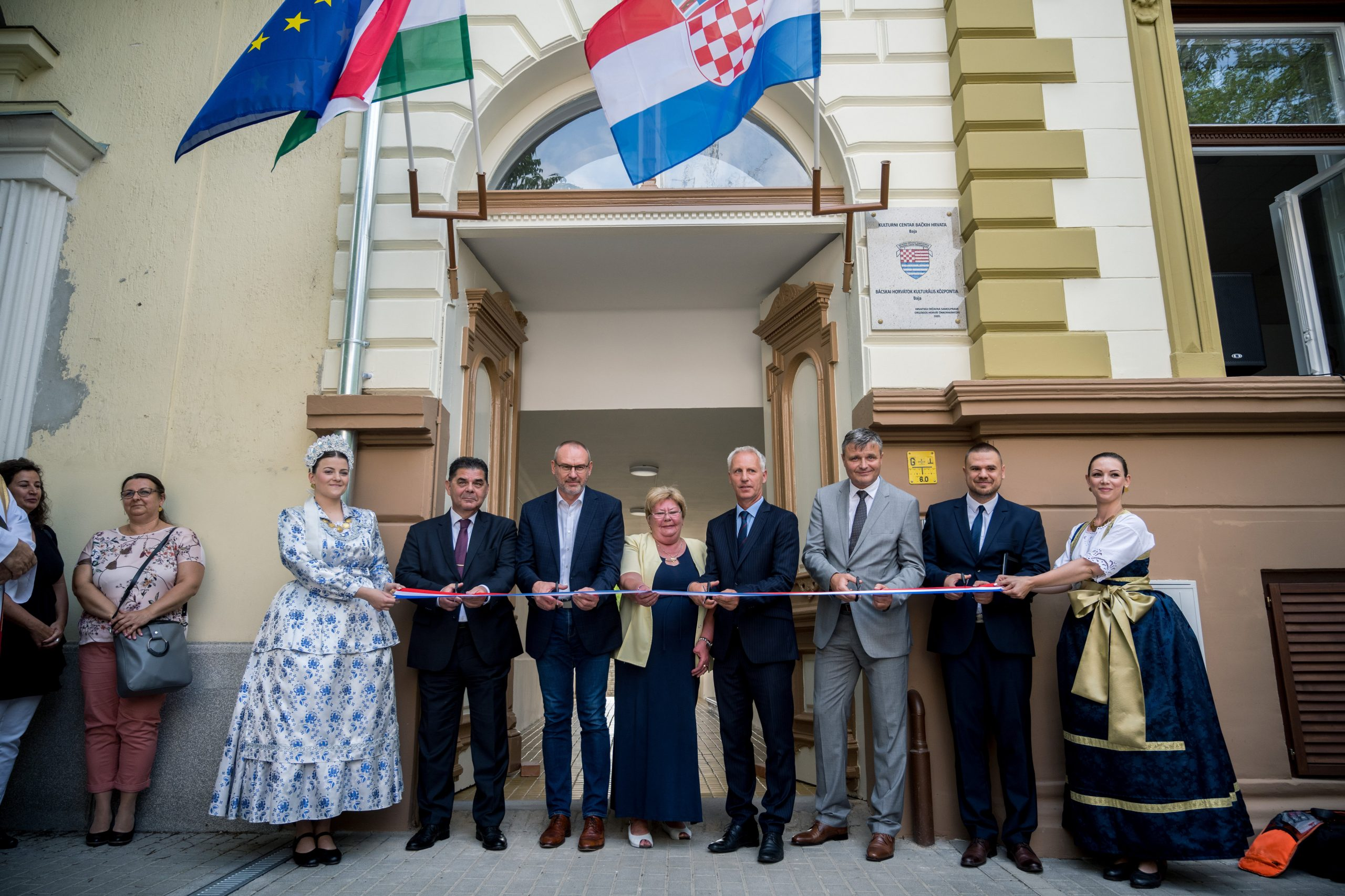 Croatian Cultural Centre Inaugurated in Baja