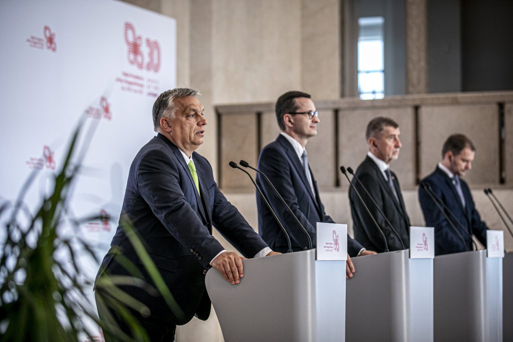 Orbán: Visegrad Group Concludes 'Good Year' post's picture