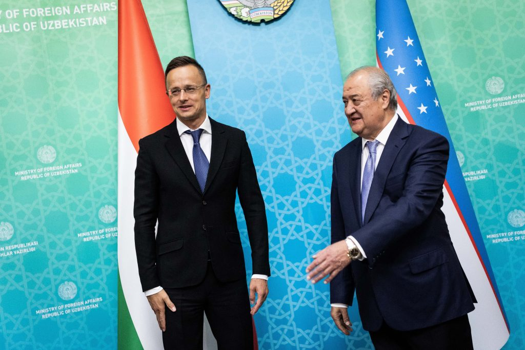 Szijjártó: Political and Economic Cooperation between Hungary and Uzbekistan 'at All-Time High' post's picture