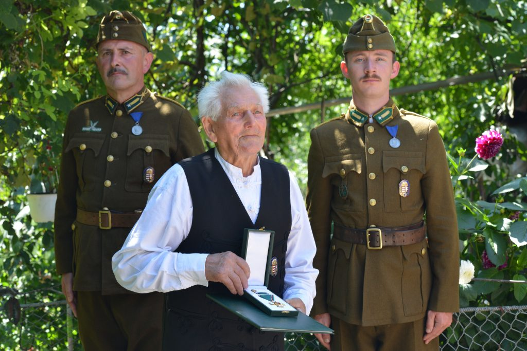 Mihály Bartha, 96-year Old Úzvölgye Veteran Decorated with Hungarian Order of Merit post's picture