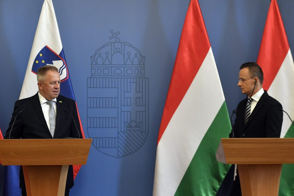 Szijjártó: Strengthening Energy Security Urgent Task for Hungary and Slovenia post's picture
