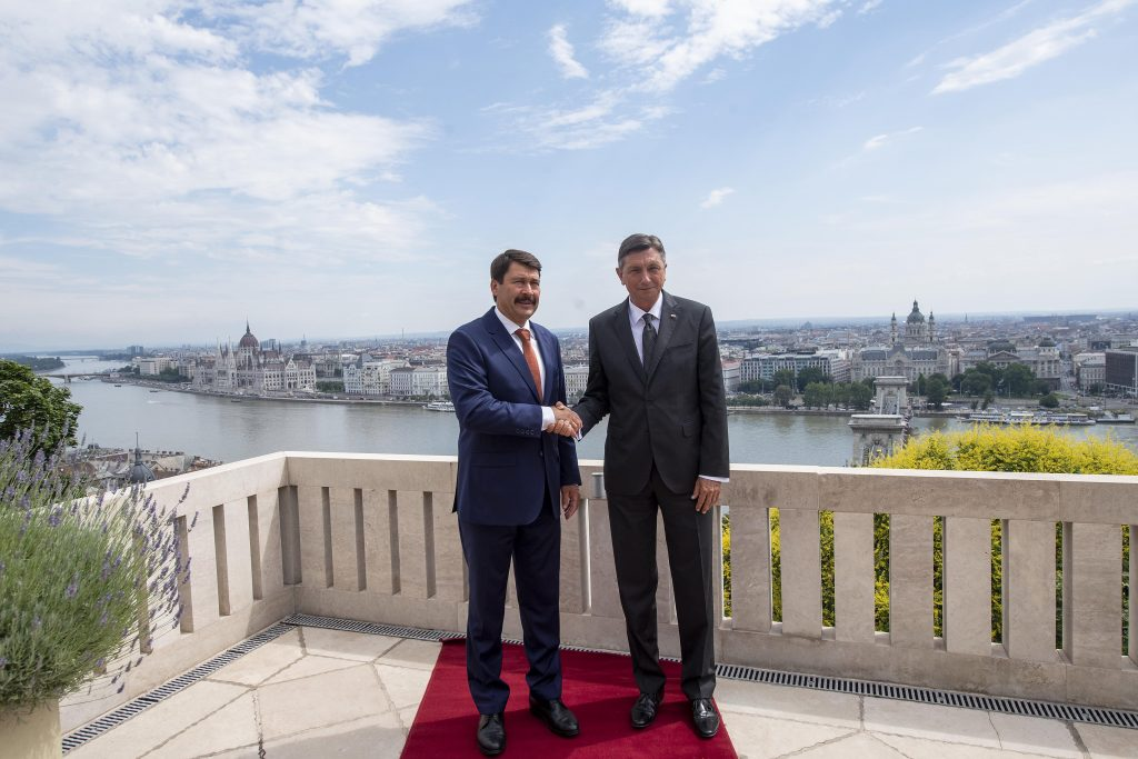 President Áder to Pahor: Hungary and Slovenia Handled Coronavirus Epidemic Well post's picture