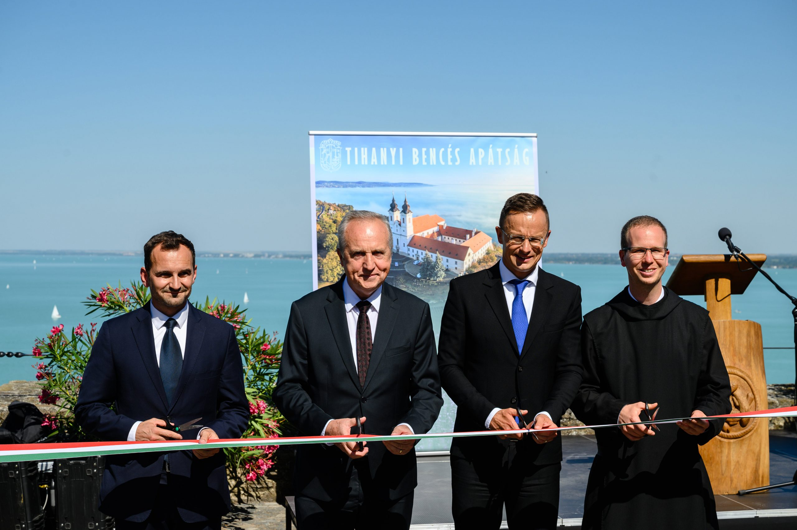 Szijjártó Attends Tihany Benedictine Museum Inauguration post's picture